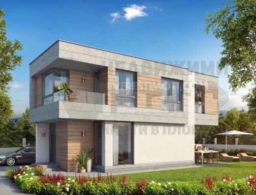 Самостоятелна Къща с двор в Коматево– Пловдив