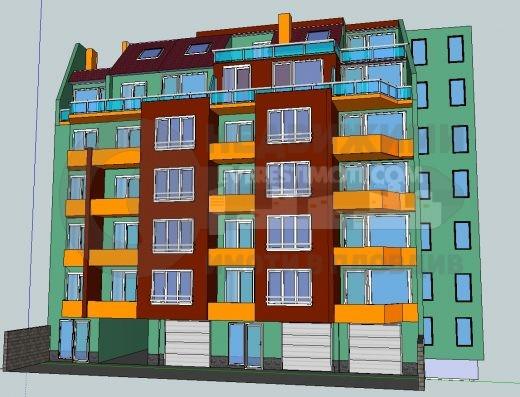 Двустаен апартамент в Старият град на Пловдив