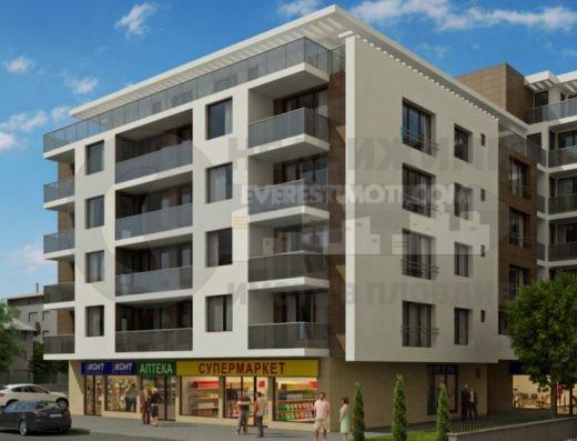 Тристаен апартамент с акт16 до Панаира–Пловдив