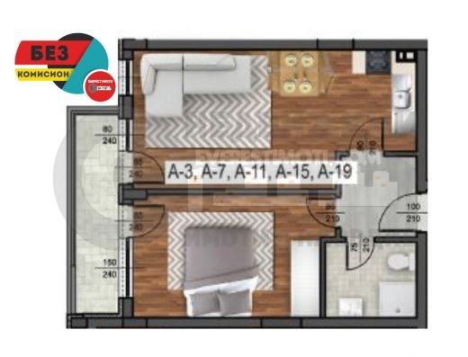 Двустаен апартамент в СУПЕР комплекс в близост до МОЛ Пловдив