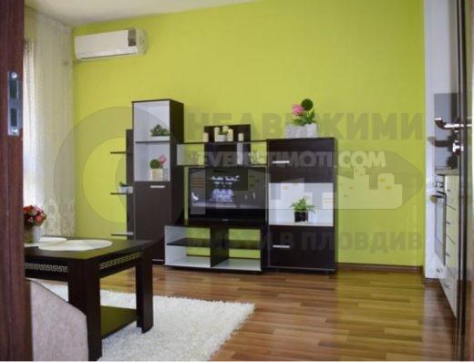 Двустаен обзаведен апартамент в Смирненски– Пловдив.
