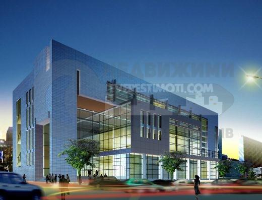 Парцел за бизнес сграда - Център - Пловдив