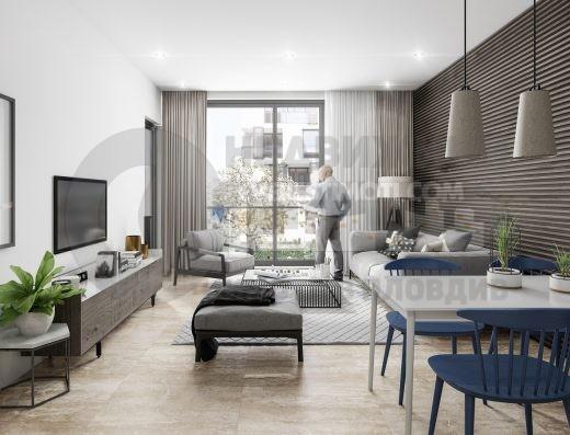 Двустаен просторен апартамент в луксозна бутикова сграда - Смирненски - Пловдив