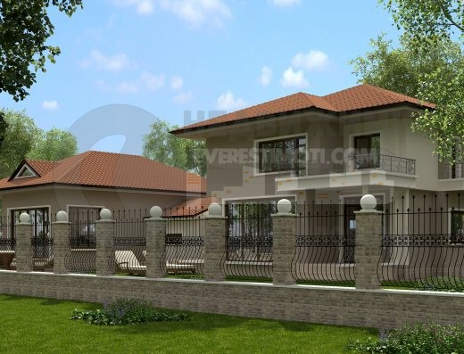 Самостоятелна къща с двор проектирана по ваш избор в кв.Коматево- Пловдив