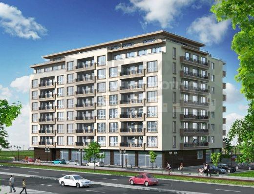 Тристаен панорамен апартамент в красива нова сграда в Тракия- Пловдив