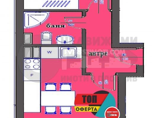 Двустаен нов апартамент в малка сграда до Новотела- Пловдив