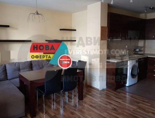 Двустаен изцяло обзаведен апартамент в нова сграда - Тракия - Пловдив