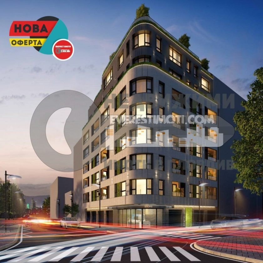 Двустаен нов апартамент в бутикова сграда до Новотела- гр.Пловдив