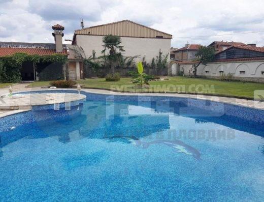 НОВА триетажна голяма къща с басейн - Коматево - Пловдив