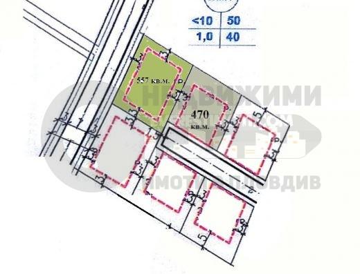 Парцел за къща с ТОК, ВОДА, КАНАЛИЗАЦИЯ И ОПТИЧЕН ИНТЕРНЕТ - Коматево, Пловдив