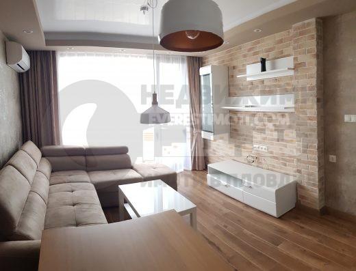 ЕКСКЛУЗИВНО! Двустаен напълно обзаведен апартамент - лукс - хотел СПС, кв. Тракия - Пловдив