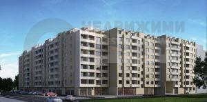 Нова сграда в централната част на кв. Тракия гр. Пловдив