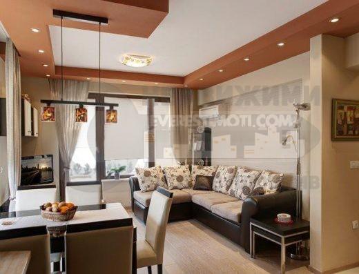 Едностаен готов апартамент в малка бутикова сграда до общината в кв. Смирненски – Пловдив