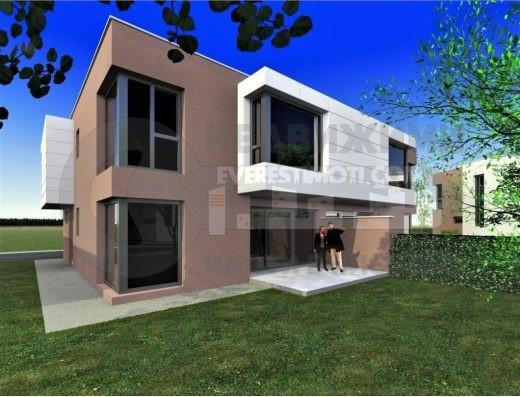 Двуетажна нова къща с перфектен достъп и озеленен двор - Коматево - Пловдив