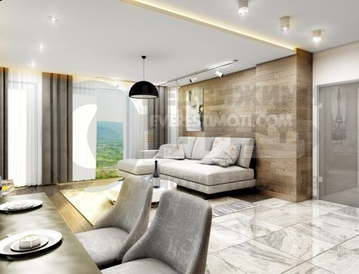 Тристаен нов апартамент в кв. Тракия гр. Пловдив