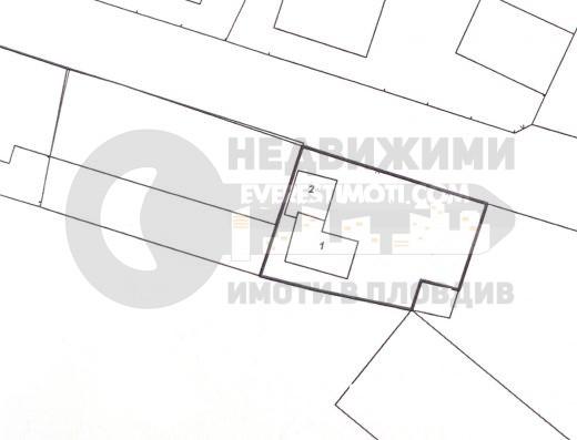 Парцел за жилищно строителство в Кючук Париж гр. Пловдив