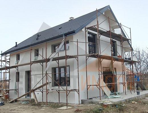 Двуетажна нова самостоятелна къща с двор 500 кв.м. в кв. Беломорски - Пловдив