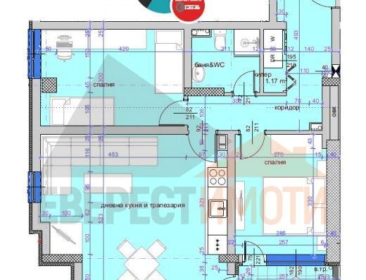 Страхотен Тристаен апартамент в нова сграда, в кв. Кършияка гр. Пловдив