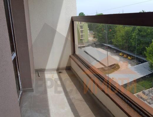 Двустаен южен апартамент в луксозна сграда с Акт 16/паркомясто/ - кв. Смирненски – Пловдив
