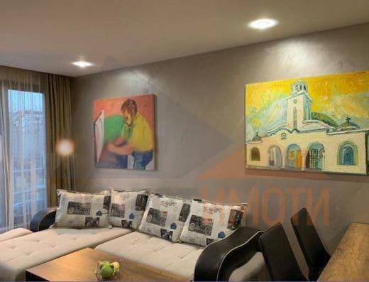 Тристаен луксозно обзаведен апартамент в подножието на Бунарджика, гр. Пловдив