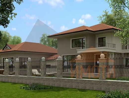 Самостоятелна къща с двор на асфалтов път в с. Белащица