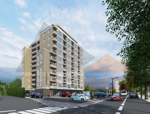Тристаен апартамент в Дизайнерска сграда в Кючук Париж гр.Пловдив