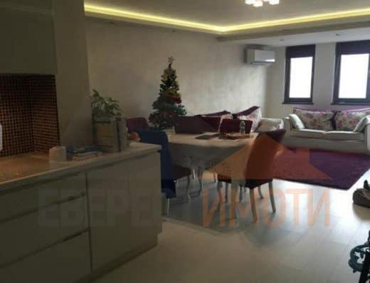 Тристаен луксозно обзаведен апартамент до моста на Герджика, гр. Пловдив